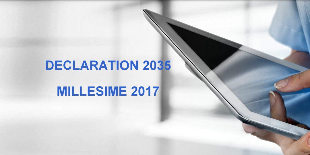Déclaration 2017 des revenus non commerciaux 2016