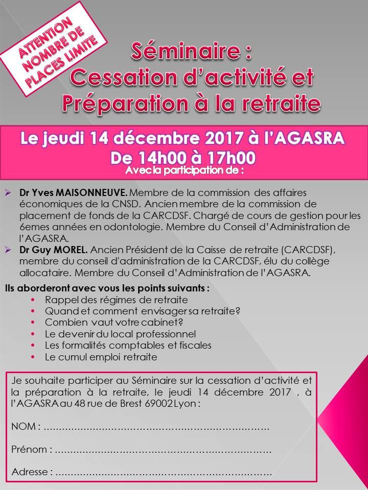 Séminaire du 14 décembre 2017
